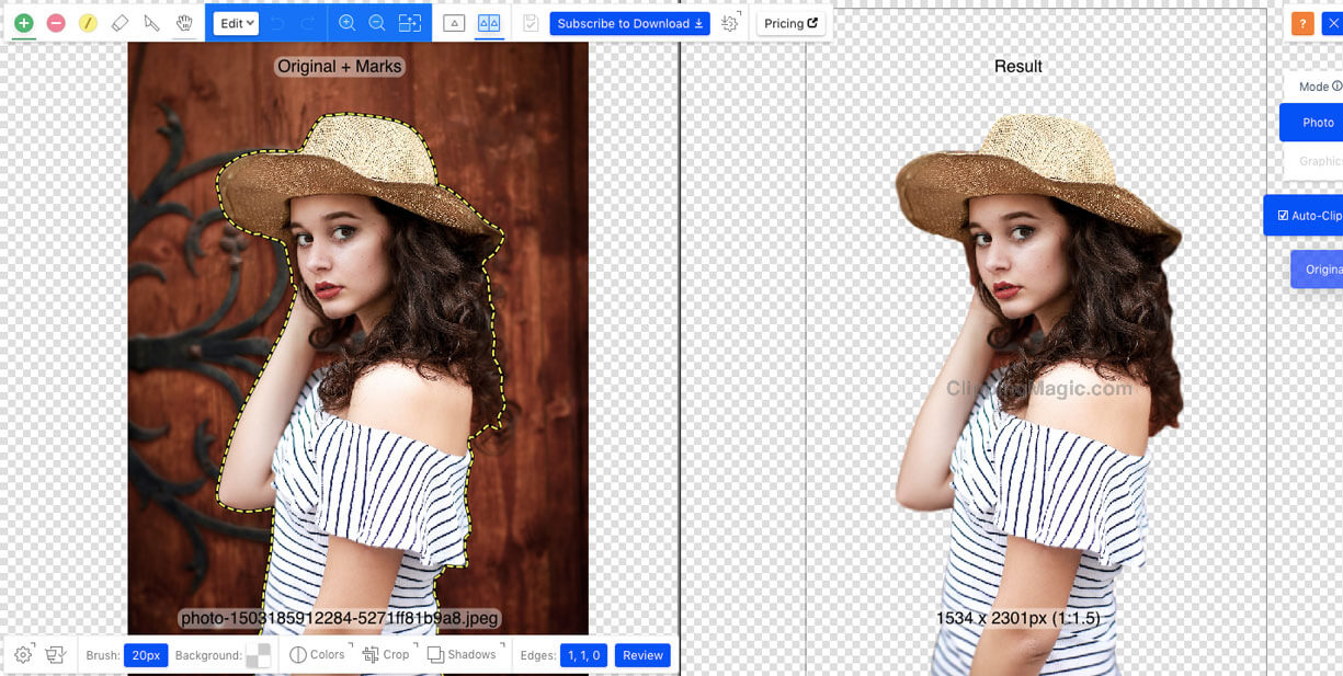 free online background remover