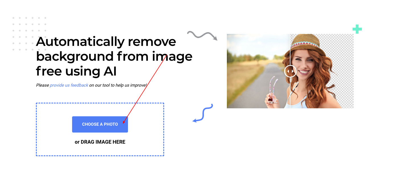 online photo editor change background color to white