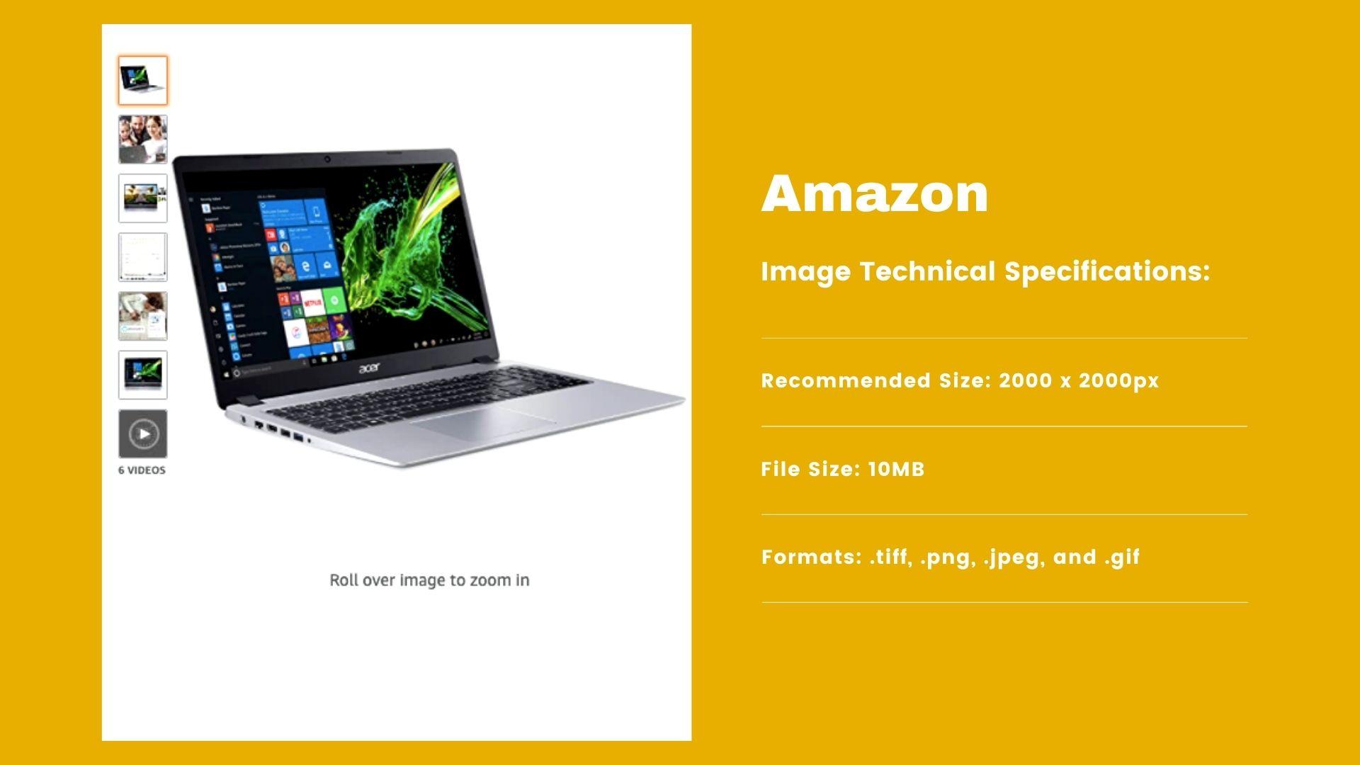 Amazon - Image Requirements
