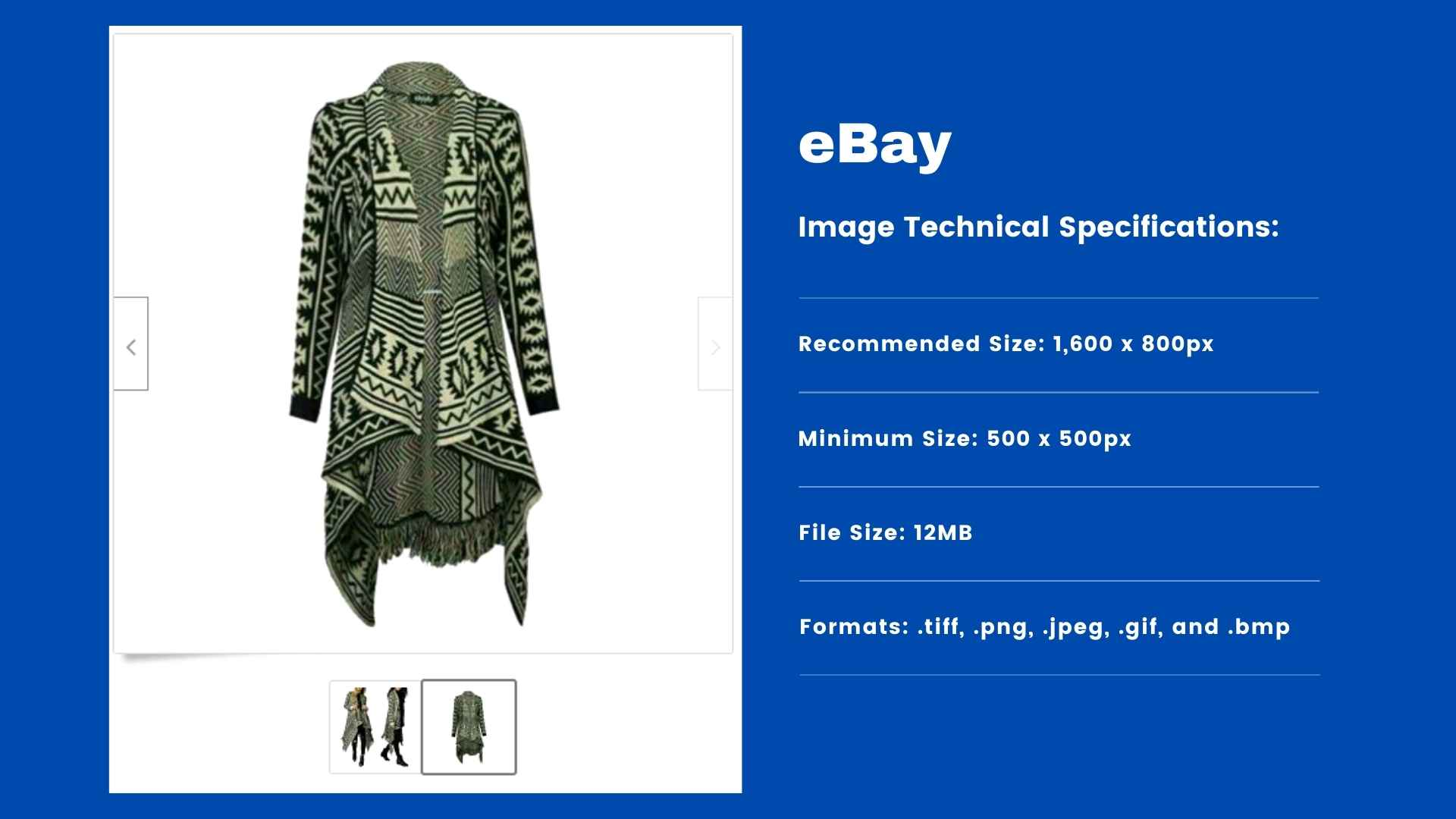 eBay - Product Image Requirements