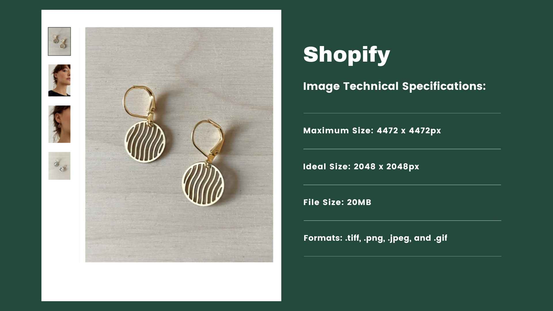 Shopify - Product Image Requirements