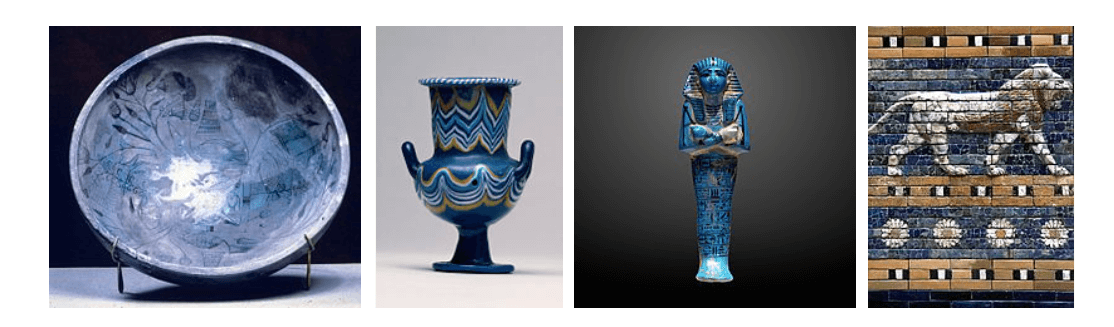 history of blue color