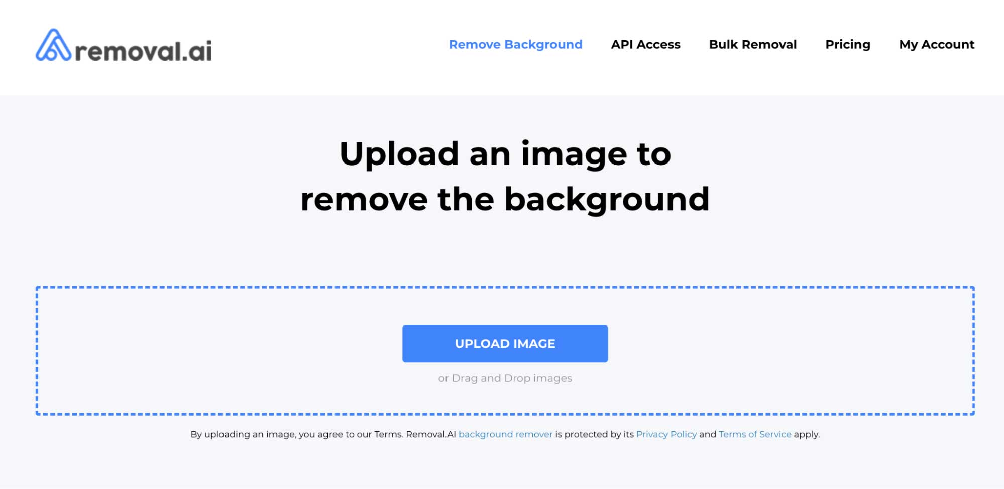 Removal AI Background Eraser Tool
