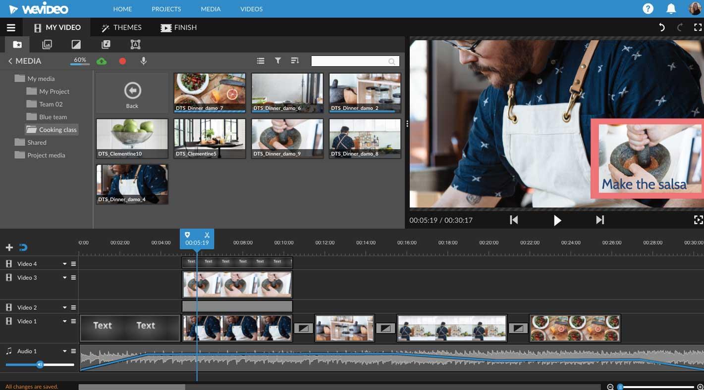 WeVideo Online Video Editor