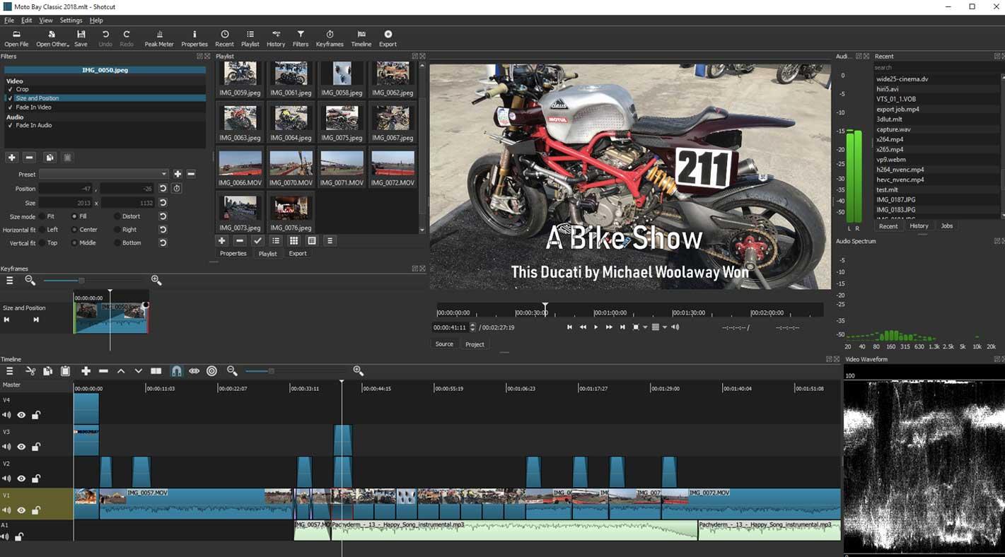 Shotcut Video Editor Online Video Editor