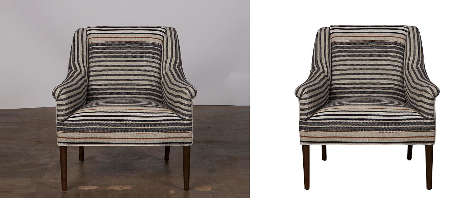 furniture background removal service