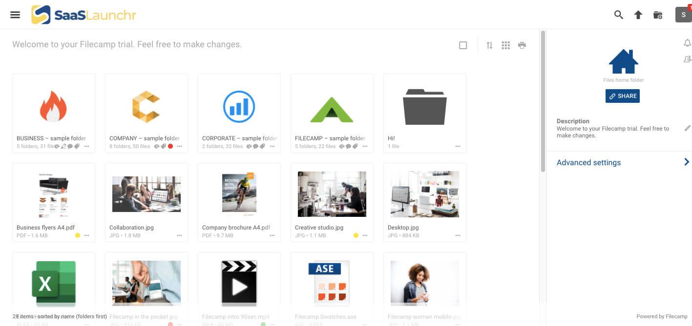 Filecamp Digital Asset Management Tool