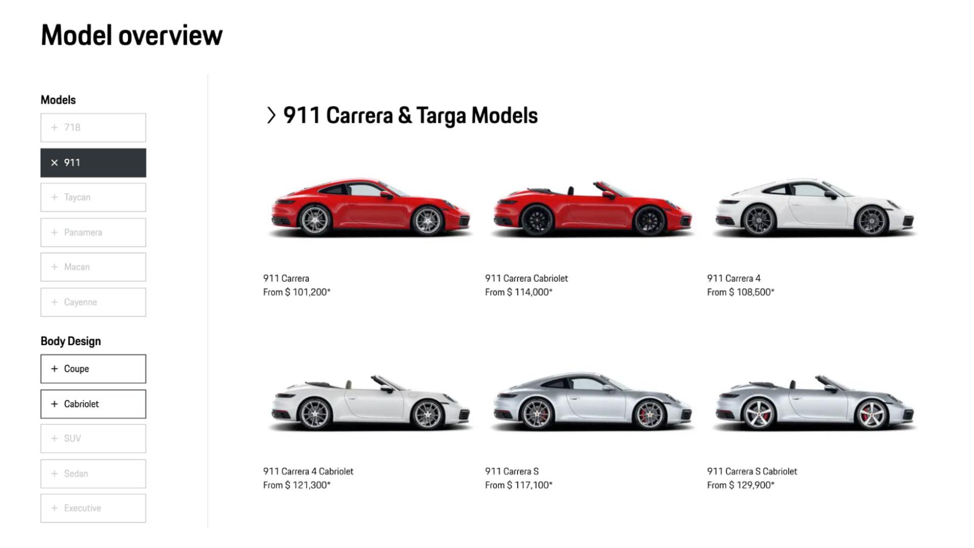 car dealership - Porsche